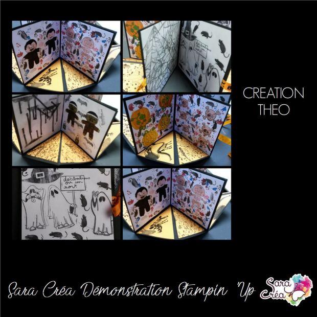 ALBUM TOURNIQUET THEO SARA CREA SCRAP