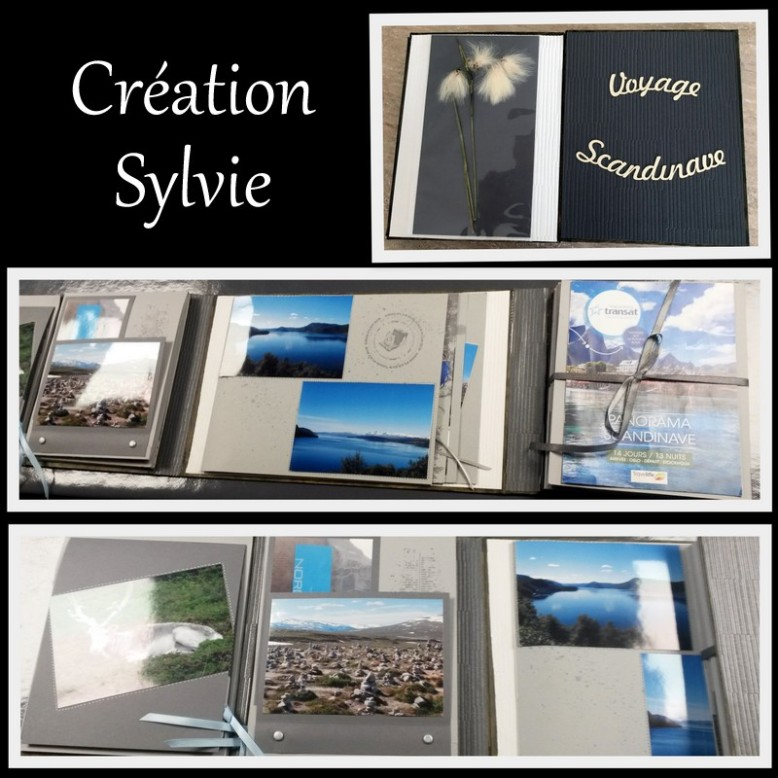 creation sylvie sara crea scrap album