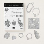 chic tropicale stampin up
