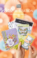sale a bration stampin up 2019